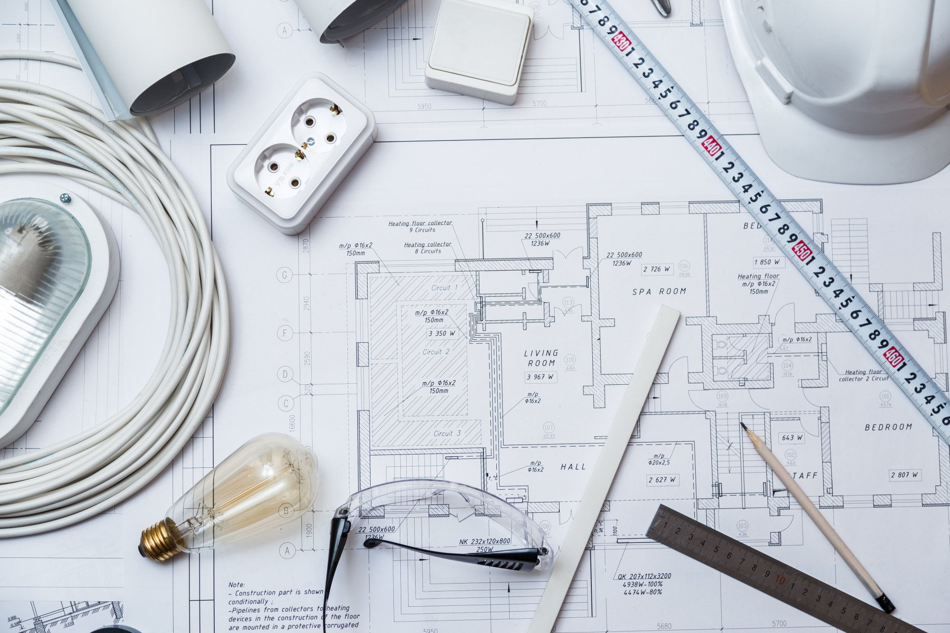 projekt elektryka domu