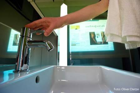 Inteligentna łazienka przyjazna użytkownikom